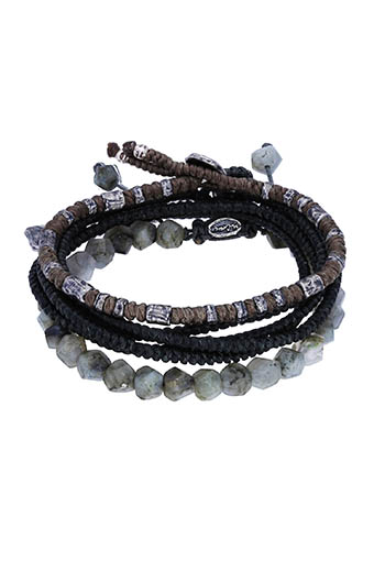 M.Cohen / Bracelet The create Stack II Labradorite