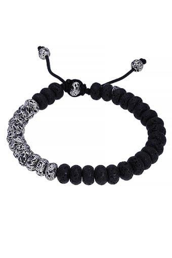 M.Cohen / Bracelet Lava Stone beads