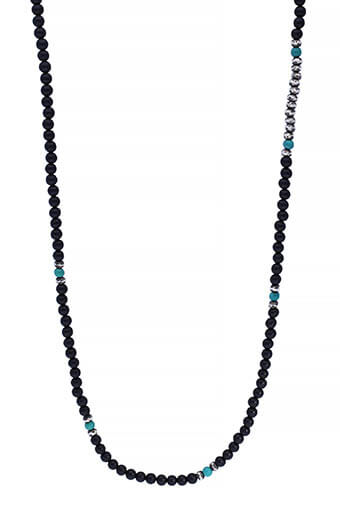 M.Cohen / Collier Mini Gemstone Onyx