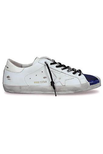Golden Goose / Sneakers Superstar, peint main