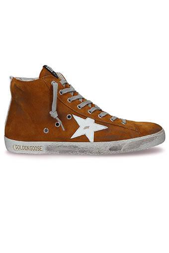 Golden Goose /  Sneakers Francy Homme, caramel suédé