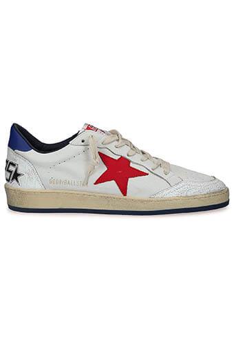 Golden Goose / Sneakers Ball Star, cuir blanc