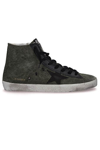 Golden Goose / Sneakers Francy, military canvas