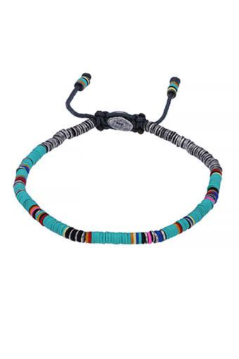 M.Cohen / Bracelet Mini African disc Turquoise