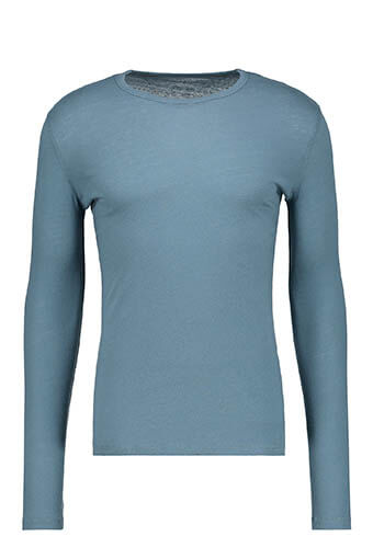 Majestic Filatures / Tee-shirt col rond manches longues