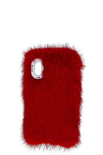 Wild and Woolly / Coque iPhone X Vermillon