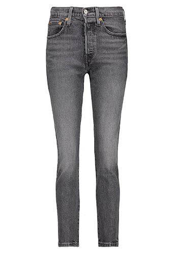Levi's / 501® Skinny Jeans, Coal Black