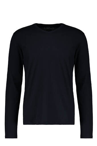 Majestic Filatures / Tee-Shirt col V manches longues.
