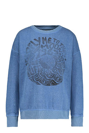 Swildens / Sweat-shirt Titu, bleu