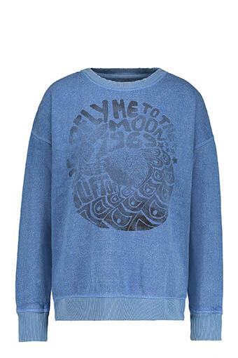 Swildens / Sweat-shirt Titu, bleu