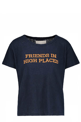 Mother / Tee shirt Friends Navy