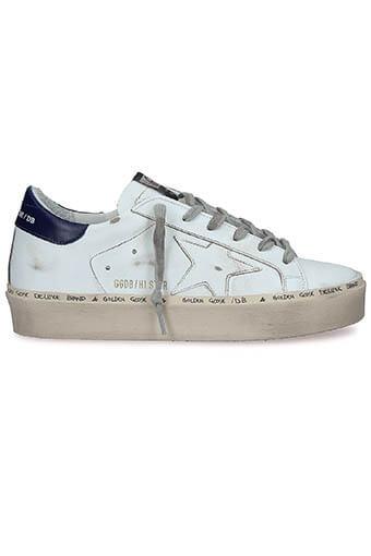 Golden Goose / Sneakers Hi Star White-Blue