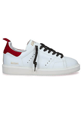 Golden Goose / Sneakers Starter White-Red