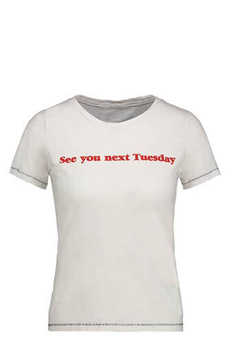 Mother / Tee shirt See you next tuesday
