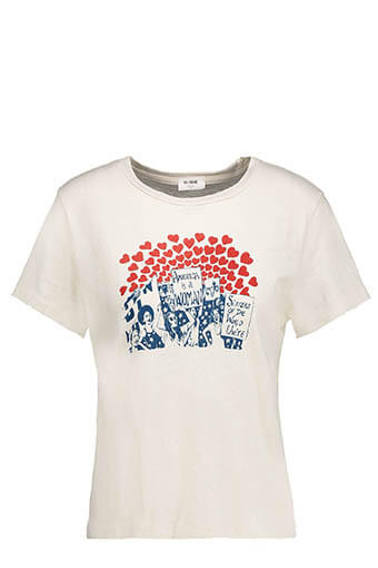 Re / Done / Tee-shirt America is a Woman