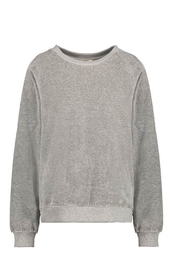 American Vintage / Sweat velours manches longues