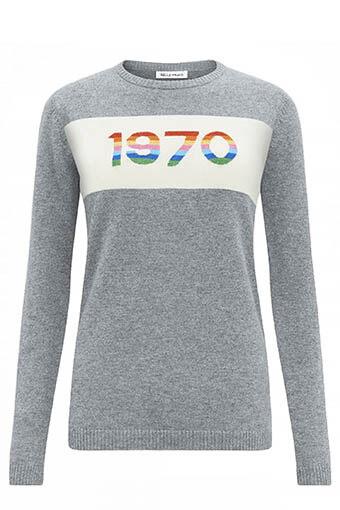 Bella Freud / Pull 1970 rainbow
