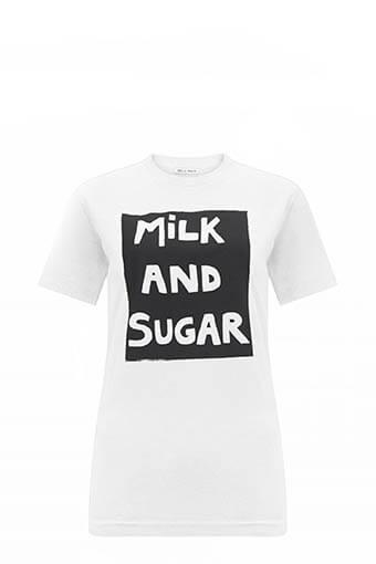 Bella Freud / Tee shirt Milk and Sugar