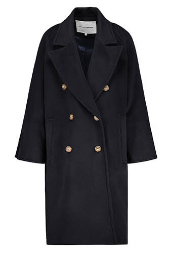 Margaux Lonnberg / Manteau Connors Navy