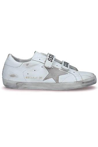 Golden Goose / Sneakers Superstar Old School White