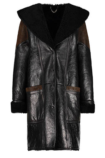 Golden Goose / Manteau Black Shearling