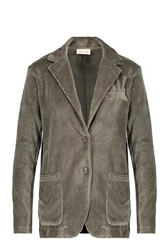 American Vintage / Blazer manches longues velours