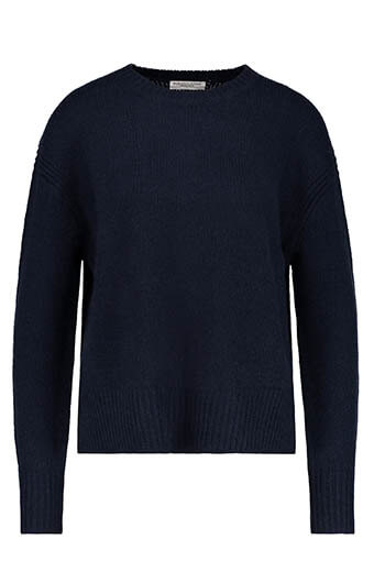 Majestic Filatures / Pull col rond oversize cachemire