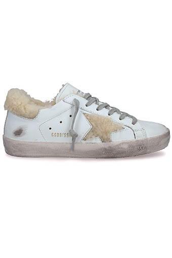 Golden Goose / Sneakers Superstar White Shearling