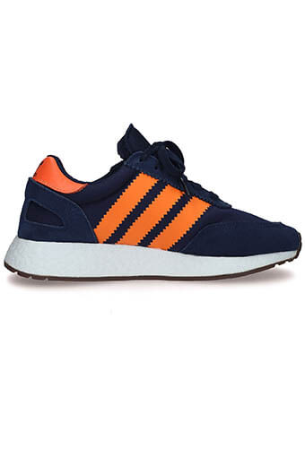Adidas Originals / I-5923 bleu marine, bandes orange