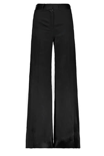Bella Freud / Pantalon évasé en satin