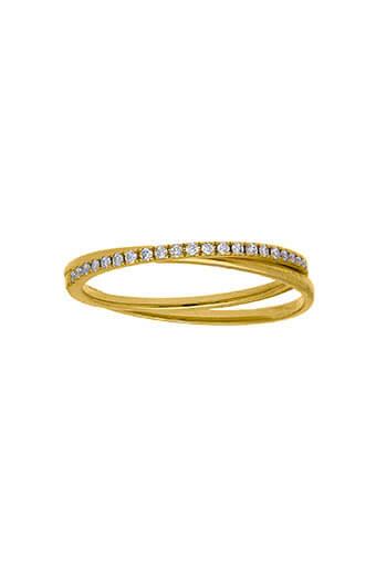 And... Paris / Bague Boyfriend alliance Diamants