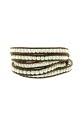 Chan Luu Bracelet cuir et perles