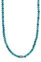 Catherine Michiels / Collier turquoise barrette diamant