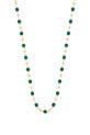 Gigi Clozeau / Collier or jaune 18 carats et perles de résine