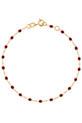 Gigi Clozeau / Bracelet or jaune et perles de résine