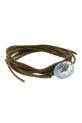 Pascale Monvoisin / Bracelet Garance n°1  Aigue Marine et diamants