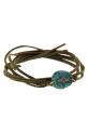 Pascale Monvoisin / Bracelet Garance n°1 turquoise et diamants