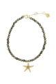 Feidt / Bracelet Etoile de mer sur pyrite
