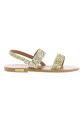 Golden Goose / Sandales Gold Glitter