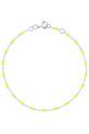 Gigi Clozeau / Bracelet or gris et perles de résine