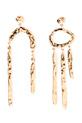 Aurélie Bidermann / Boucles pendantes Melina assymétriques
