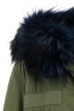 Mr&Mrs Italy / Parka fourrure bleue