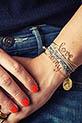 Atelier Paulin / Bracelet Rêve en fil de cuivre doré à l'or fin