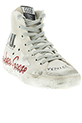 Golden Goose / Sneakers Francy Cream canvas glitter memory mixte