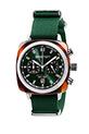 Briston / Clubmaster Sport Acétate - Chronographe écaille de tortue cadran vert anglais soleillé