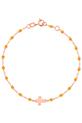 Gigi Clozeau / Bracelet or rose croix