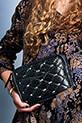 Claris Virot / Sac Kate noir avec studs