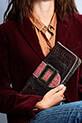 Claris Virot / Pochette Georgette tricolore