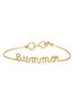 Atelier Paulin / Bracelet Summeren fil de cuivre doré à l'or fin