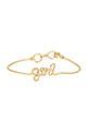 Atelier Paulin / BraceletGirl en fil de cuivre doré à l'or fin